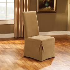 sure fit cotton duck short dining room chair slipcover ideas for