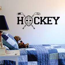 stickers muraux picture more detailed picture about hockey hockey goalie mask and sticks quote decal wall vinyl sticker art sports extreme mural poster stickers