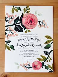 wedding invitations floral s floral wedding invitations from rifle paper co