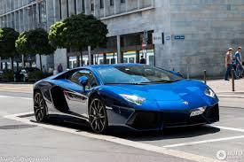 Blue Lamborghini Aventador - lamborghini aventador lp700 4 9 july 2017 autogespot