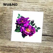 purple flower tattoo reviews online shopping purple flower