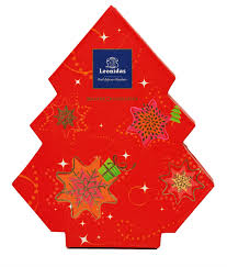 leonidas christmas tree box 11 assorted chocolates best selling