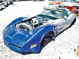 corvette junkyard california junkyard crawl flamed 81 corvette found in the desert rod