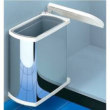 Kitchen Cupboard Garbage Bins by Trash Cans Under Kitchen Cabinet Double Pull Out Trash Can With