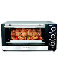 Toaster Oven Broil Hamilton Beach Brands Inc 31409 6 Slice Toaster Oven Broiler With