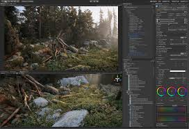 forest render 2018 and graphics unity blog