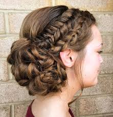 2 braids in front hair down hairstyle long natural hair 40 cute and comfortable braided headband hairstyles