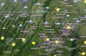 me the weather map washington dc weather wtop