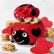 ladybug cookies mrs fields ladybug cookie jar