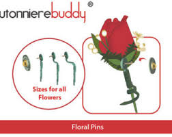 boutonniere pins boutonniere pins etsy