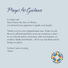 prayer for guidance for teachers educators and all those serving