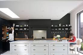 black walls white kitchen cabinets 25 black kitchen ideas