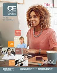 ce guide fall 2016 by triton college issuu
