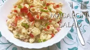 macaroni salad mayo mustard youtube