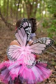 Pink Butterfly Halloween Costume Pink Monarch Tutu Dress Newborn Baby 3 6 9 Onceuponatimetutus