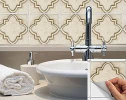 Vinyl Walls For Bathrooms Tile Stickers Waterproof Removable Wallpaper By Snazzydecal