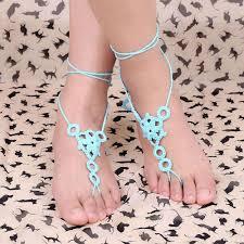 barefoot sandals for wedding wedding crochet wedding barefoot sandals shoes foot