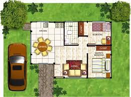 floor plan 2 bedroom bungalow bungalow house with floor plan in the philippines new 2 bedroom