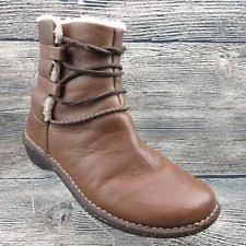 ugg womens caspia ankle boots ugg australia leather lace up casual boots for ebay