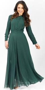 maxi dress with sleeves modest trendy stylish fashionable maxi floor length dresses with