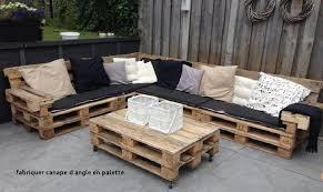 fabriquer un canapé d angle fabriquer canape d angle en palette awesome salon de jardin en