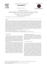 Encyclopedia Wood Joints Pdf by Design Guidelines For Additive Manufactured Snap Fit Joints Pdf