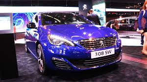 peugeot purple peugeot 308 gt warm hatch and wagon revealed
