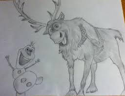 frozen olaf and sven by kaitlin73 on deviantart