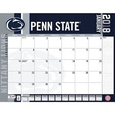 penn state nittany lions 2018 desk pad 9781469350424