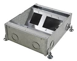 Hubbell Concrete Floor Boxes by Floor Boxes United Electric