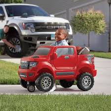 Ford Raptor Model Truck - step2 ford f 150 raptor 2 in1 ride on red walmart com