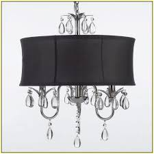Mini Lamp Shades For Chandeliers Chandelier Lamp Shades With Crystals Home Design Ideas