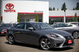 lexus is incentives used 2014 lexus is 350 for sale bellevue wa