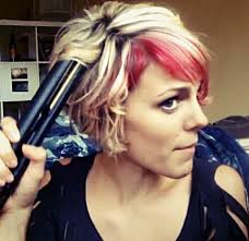best curling iron for short fine hair how to curl short hair with a flat iron youtube