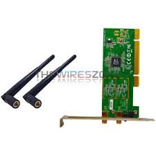 Wifi Card 300mbps 802 11n G B Pci Wifi Wireless Card Adapter Antenna For