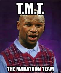 Floyd Meme - t m t the marathon team bad luck floyd mayweather jr meme