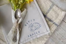 easter napkins attic lace make simple easter napkins