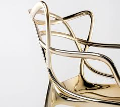 precious kartell philippe starck reimagines the masters chair