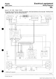 fiat punto 1997 176 1 g wiring diagrams workshop manual