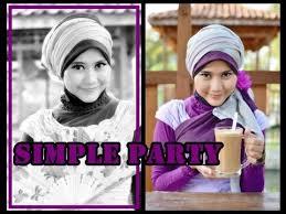 tutorial hijab paris ke pesta tutorial hijab pesta wisuda tutorial hijab modern paris by