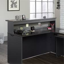 Inexpensive Reception Desk Reception Desks Cymax Stores