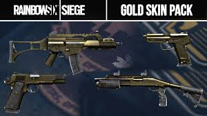 Buy Rainbow Six Siege Gold Rainbow 6 Siege Gold Weapons Skin Pack Exclusive Dlc Gold Camo