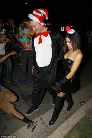 Cat In The Hat Costume Jenna Dewan Tatum Wears Cat In The Hat Costume To George