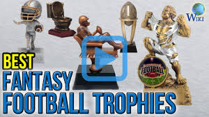Fantasy Football Armchair Quarterback Trophy Top 7 Fantasy Football Trophies Of 2017 Video Review