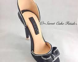 high heel cake topper gumpaste high heel shoe fondant shoe high heel cake topper