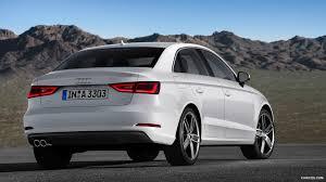 white audi sedan 2015 audi a3 sedan glacier white rear hd wallpaper 20