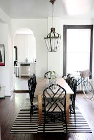 white farmhouse table black chairs contemporary accent chairs dining room traditional with ikea rug