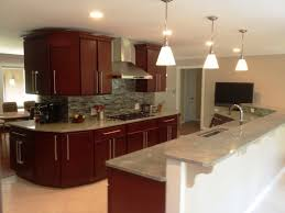 Light Cherry Kitchen Cabinets Cherry Kitchen Cabinets For Traditional Style Oo Tray Design