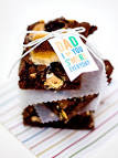Sarah Hearts - S'mores Brownies | Free Father's Day Printable Gift Tag