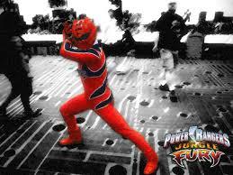 jungle fury red power ranger wheel150050 deviantart